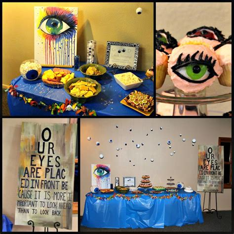 office themed events eye optometry optometrist theme party eyes murphy