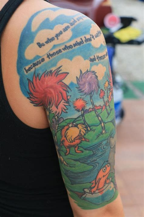 dr seuss tattoos 17 best images about ideas on the lorax