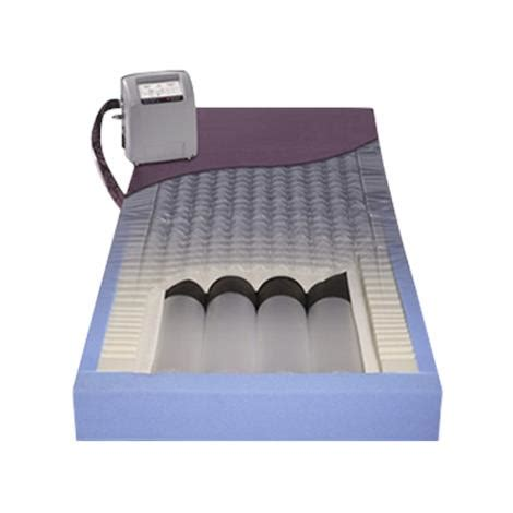 span america pressureguard easy air lr mattress system combination therapy mattresses