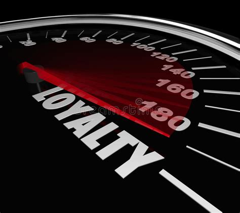Mba How To Measure Repeat Business by Loyalty Word Speedometer Measuring Return Repeat Customer