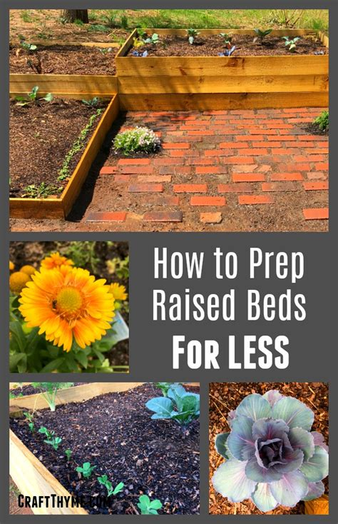 how to prepare a garden bed how to prepare raised garden beds weed free style craft