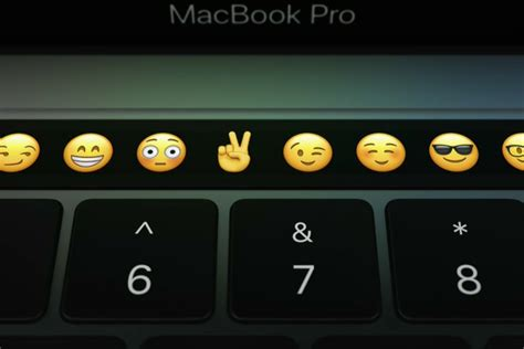 Macbook Pro Touch Bar apple s macbook touch bar is actually a mini apple
