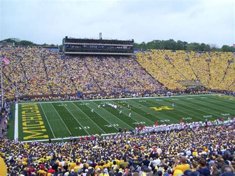 big house student section stadium tour everything you need to know about michigan