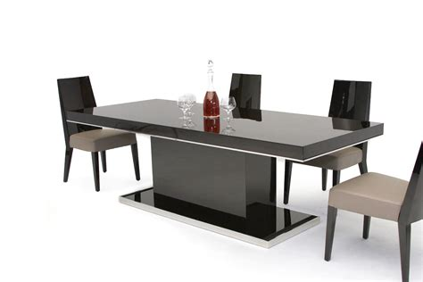 modern dining tables b131t modern noble lacquer dining table