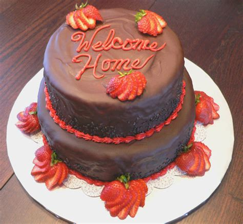 welcome home cake cakecentral