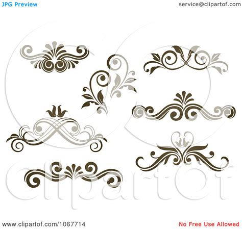 design art free download ornate scroll clipart