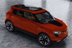 mahindra new small car mahindra compact suv s101 mid size suv to roll out of