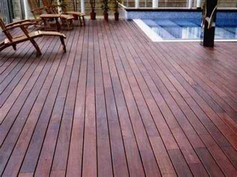 outdoor wood flooring