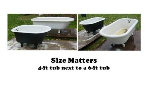 how long is a standard bathtub 4 foot long bathtubs tubethevote