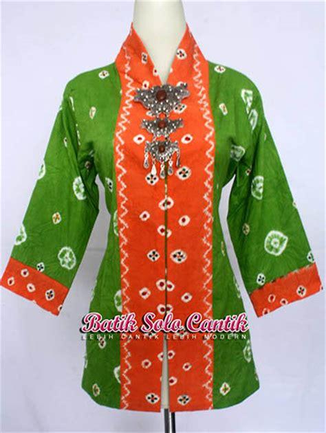 Kain Jumputan Dan Batik Printing model kebaya jumputan terbaru baju kerja batik