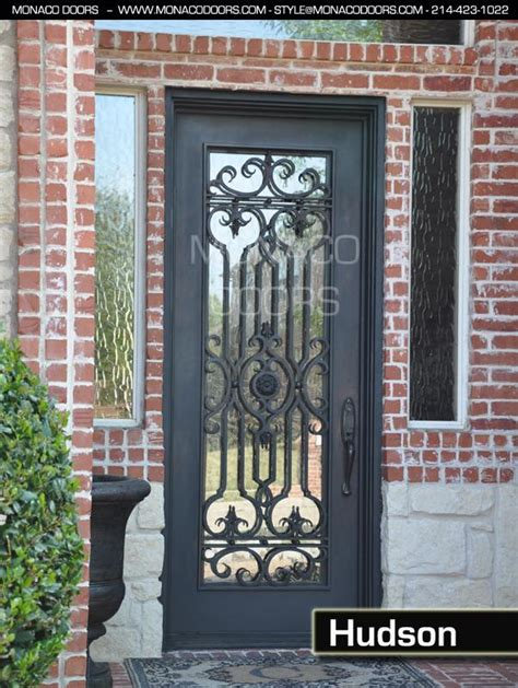 Front Door Gate Designs Iron Front Doors Iron Gates Monaco Doors