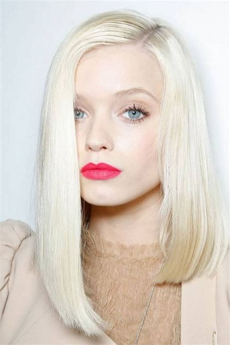 platinum blonde on the bottom and dark blonde om the top 30 platinum blonde hair color shades and styles