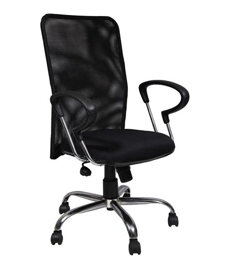 Medium Back Chair by Medium Back Office Chair In Black Buy At Best