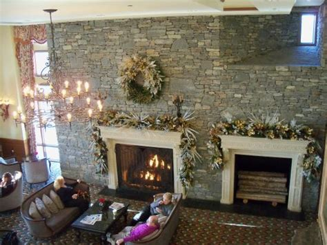 Fireplace Asheville by Fireplaces In The Lobby Picture Of The Inn On