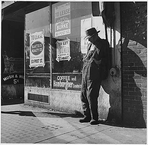 In Search Of Work Or A Better During The Depression Many Unemployed Great Depression Out Of Work