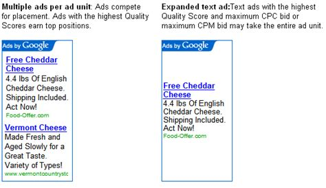 adsense test image gallery text ads