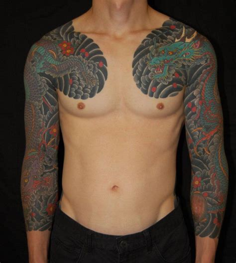 tattoo oriental traditional traditional japanese dragon tattoo sleeves by shinji