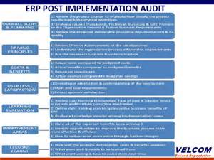 Post Implementation Review Template erp post implementation audit