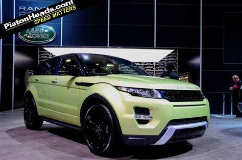 range rover evoque joins the green pistonheads