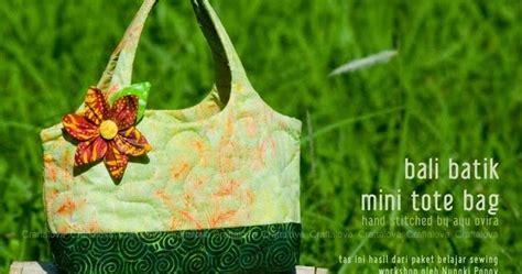 Tote Bag Bali Tas Bali craftalova bali batik mini tote bag