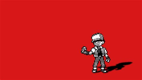 wallpaper anime red pokemon red anime red background free wallpaper