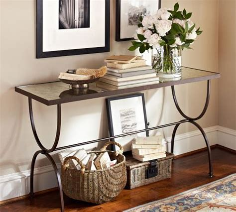Pottery Barn Entry Table by Entry Console From Pottery Barn Welcome Home