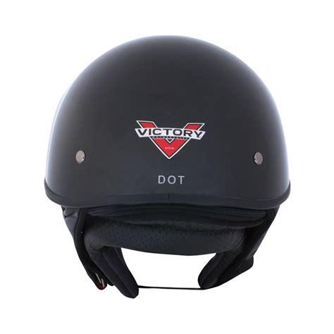 mds victory motif by azka helmet half helmet 1 open black by victory motorcycles