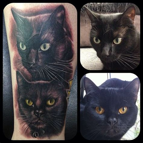 tattoo fixers cat face wifes new tattoo black cats cat and tattoo
