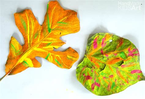 preschool painting with leaves how to paint leaves a preschool steam activity kids