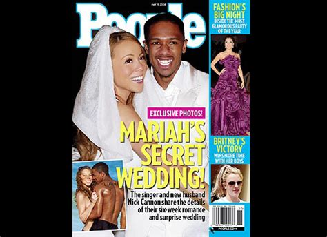 Nick Cannon Didnt Tie The Knot by Weddings Brides Carey Yvette