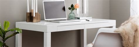 White Desk by White Desks Computer Tables At Overstock
