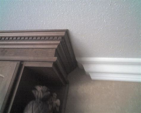 How To Join Kitchen Cabinets Together Joining 2 Different Crown Moldings Finish Carpentry Contractor Talk