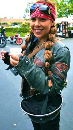 hairstyles for woman who ride a motorcycle 1000 ideas about motorcycle hair on pinterest