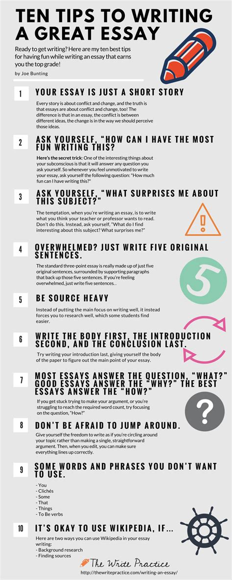 how to write a paper in person 10 tips to write an essay and actually enjoy it