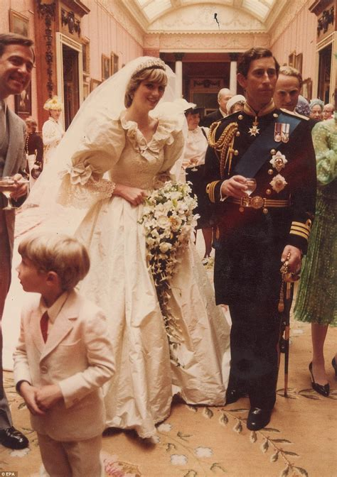 prince charles and princess diana behind the scenes at the royal wedding previously unseen