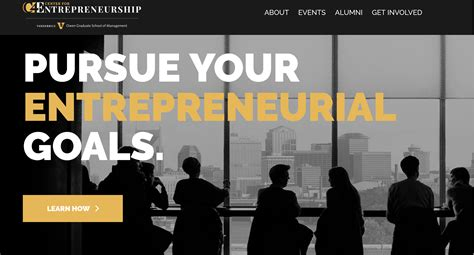 Owen School Of Management Mba by The Center For Entrepreneurship Website Launches