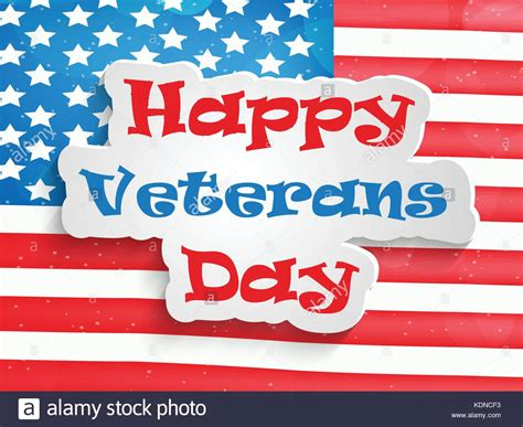 Veterans Day Poster Stock Photos Veterans Day Poster Stock Images Alamy Happy Veterans Day Template