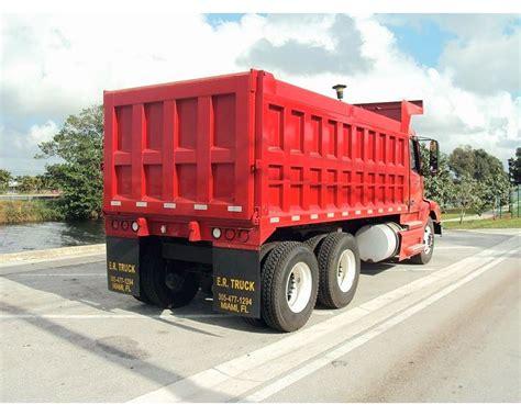 volvo vnm heavy duty dump truck  sale miami fl mylittlesalesmancom
