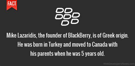 born greek meaning mike lazaridis blackberry founder is of greek origin