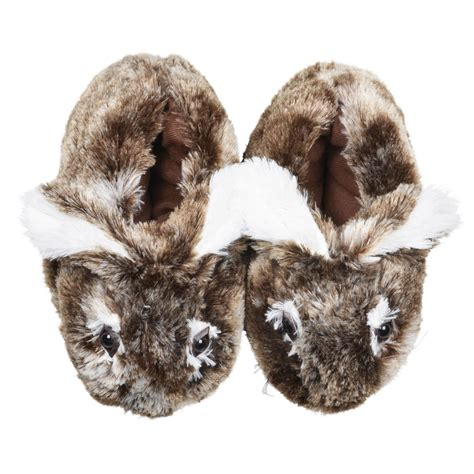 bunny rabbit slippers luxurious bunny rabbit slippers faux fur non