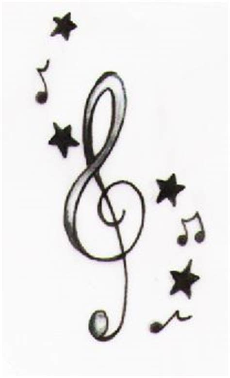 music notes and stars tattoo designs 1000 images about on tattoos