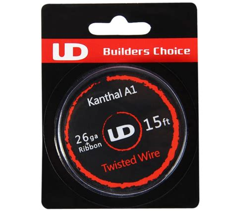 L62 Authentic Ud V2 Kanthal A1 Coil 0 15 Ohm 313295 Vapor original youde ud 26ga ribbon kanthal a1 twisted wire 2 86 shopping gearbest