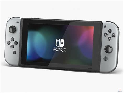Nintendo Switch Con Gray nintendo switch gray con 3d model cgstudio