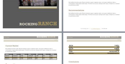 broker opinion of value template farm ranch broker opinion of value template