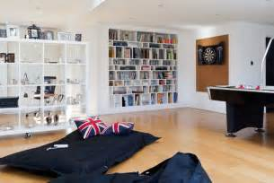 Boys Game Room Ideas - cool teen hangouts and lounges