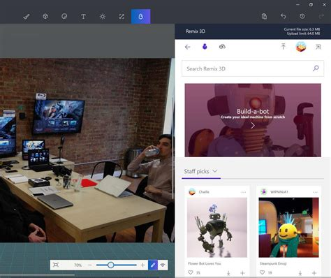 microsoft paint 3d review rating pcmag com microsoft paint 3d pcmag com