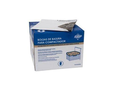 garbage compactor bags kenmore 665 13614102 trash compactor bags 60 pack