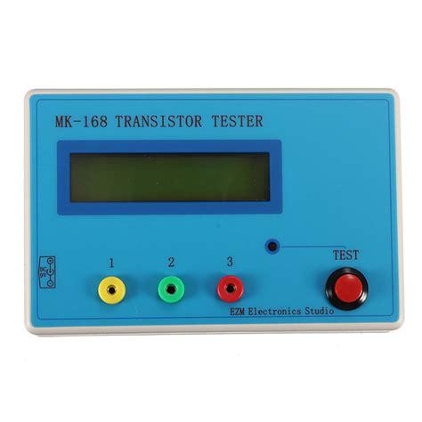 npn transistor tester mk 168 transistor tester diode triode esr rlc lcr