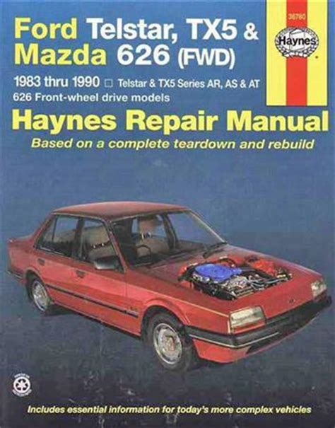 manual repair free 1990 mazda 929 navigation system ford telstar tx5 mazda 626 fwd 1983 1990 haynes owners service repair manual 1563922770