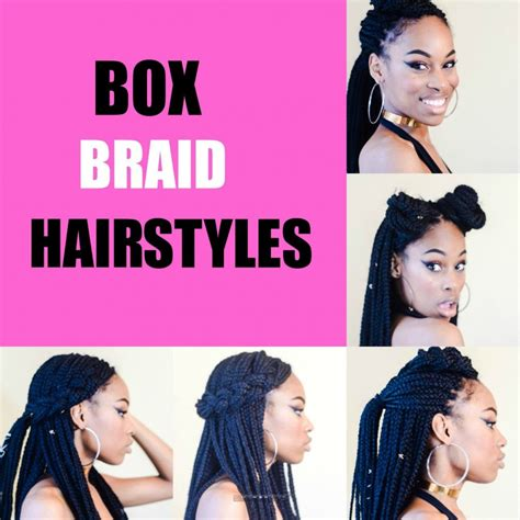 Hairstyles You Can Do With Box Braids by 5 Simple Box Braid Hairstyles That Turn Heads Voice Of Hair